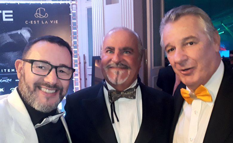 Reinaldo Dutra, Tadeu Ribeiro e Pedro Menin