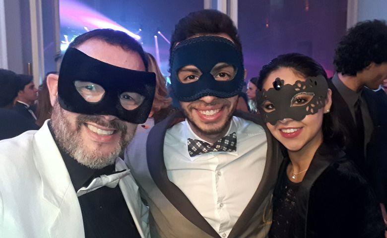 Reinaldo Dutra, Abner Saab e Jéssica Marques